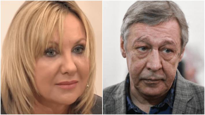 Елена Яковлева и Михаил Ефремов