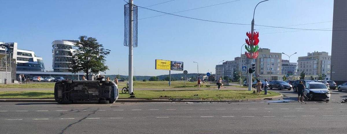 ДТП в Минске
