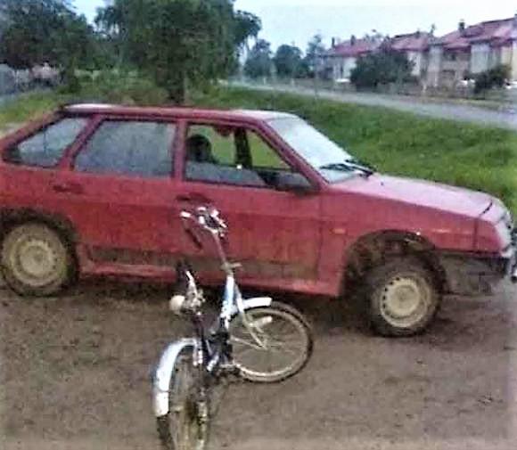 подросток на авто