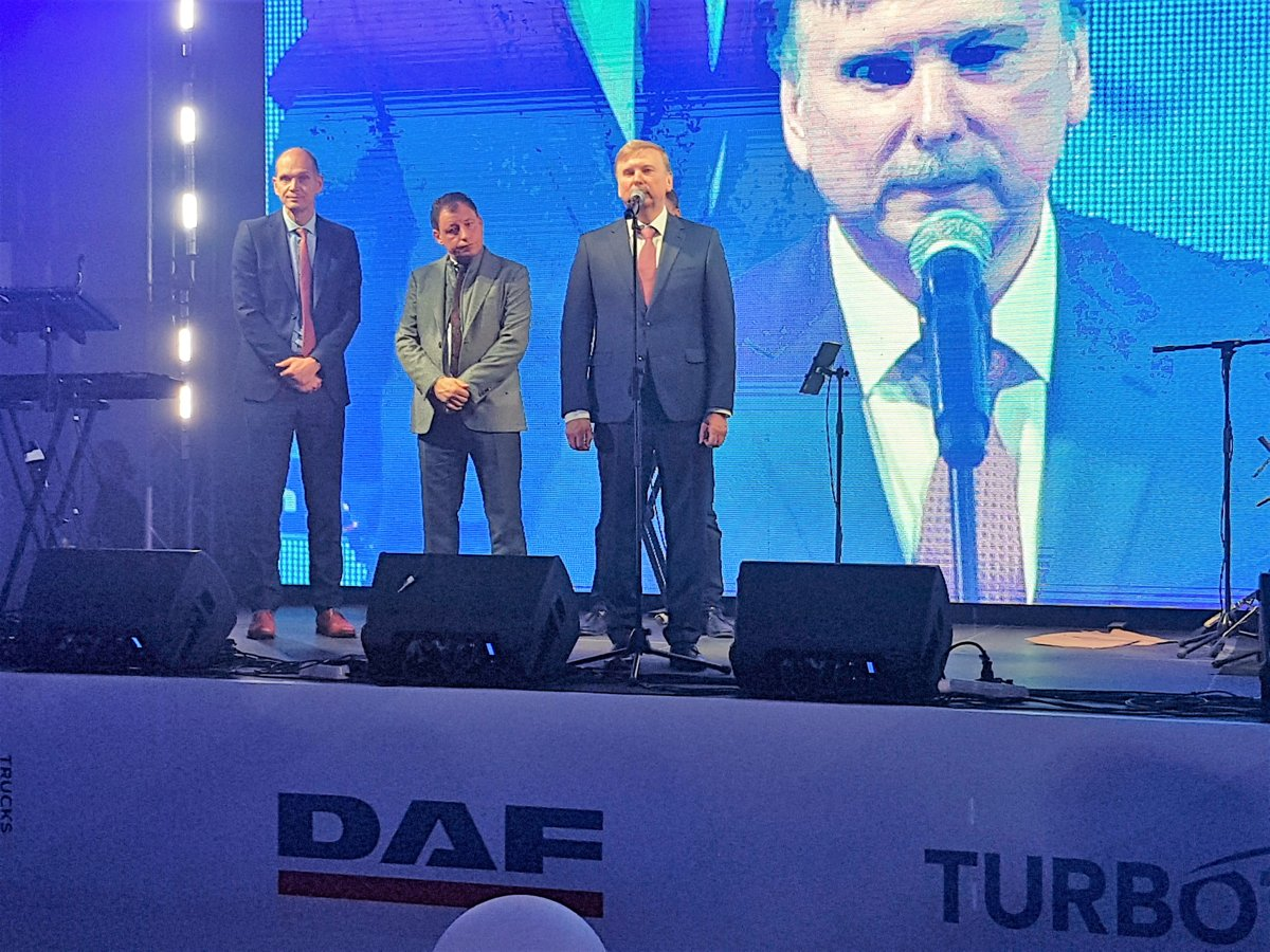 Фирменный центр DAF в Беларуси набирает обороты