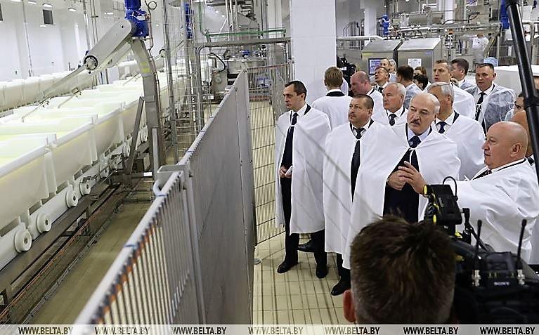 """А. Г. Лукашенко: Мы им покажем, что такое санкции!"""""""