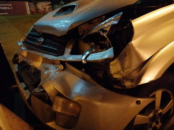 Автомобиль Виталия Рымашевского попал в ДТП