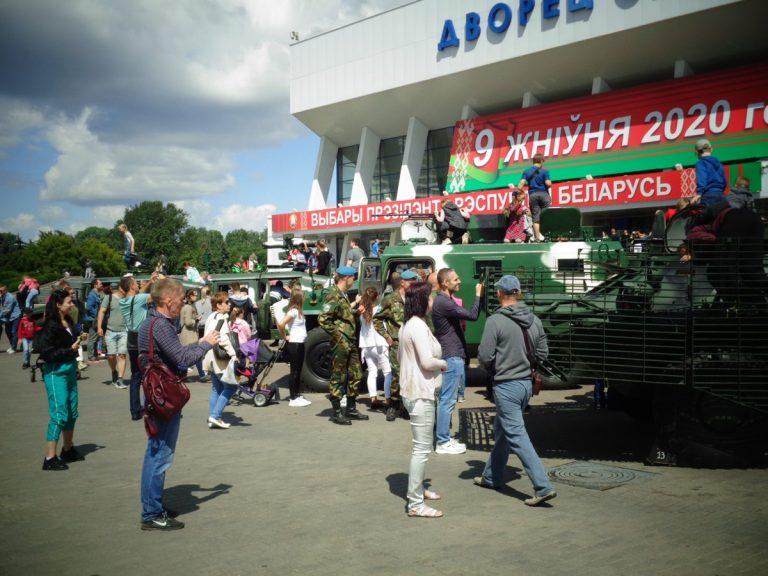 Юбилей ВДВ и ССО отметили в Минске