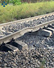 СБУ расследует попытку подрыва поезда с топливом из Беларуси