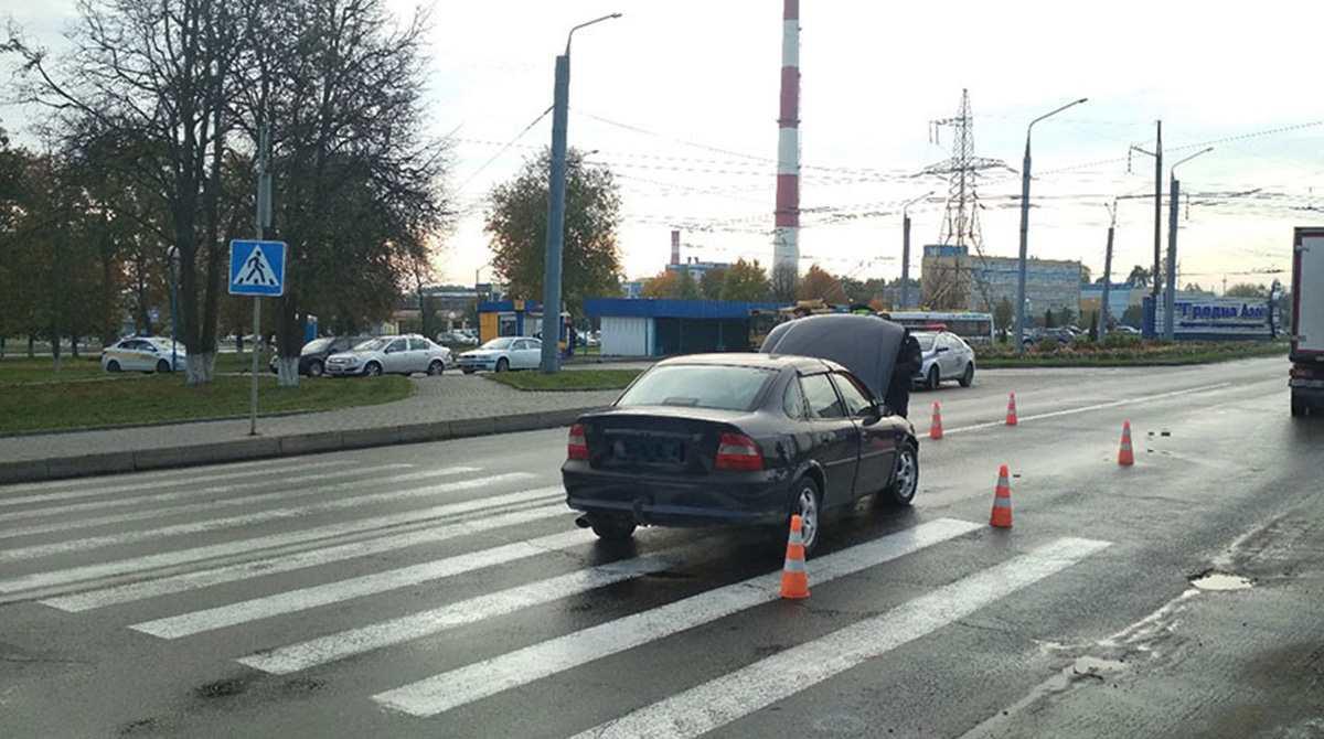 ДТП на пешеходном переходе