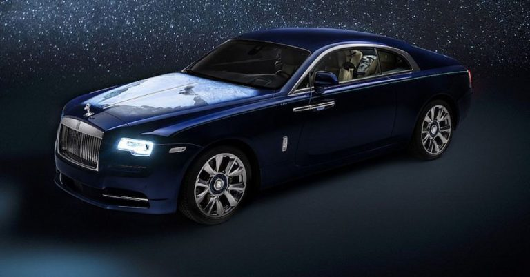 Rolls-Royce Wraith Inspired by Earth
