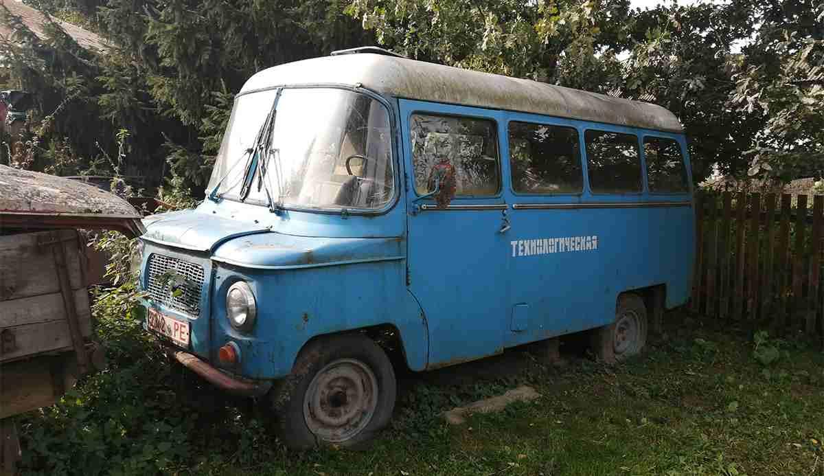 Ретро грузовики Владимира Протасени