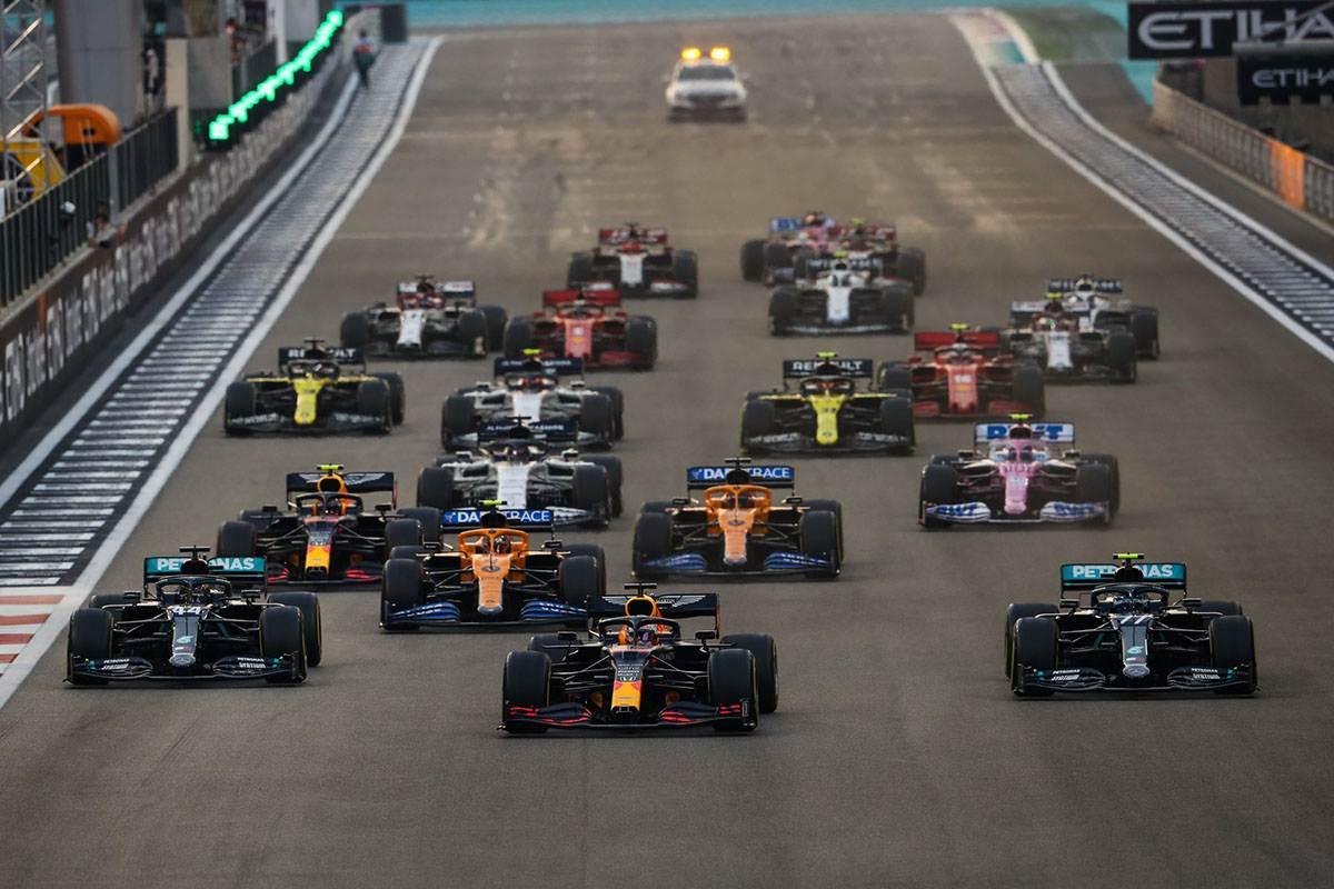 «ФОРМУЛА-1»: Гран-при Абу-Даби - 2020