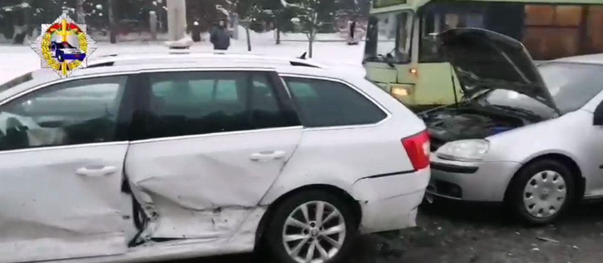ДТП возле «Борисовского тракта»