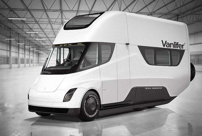 Tesla фургон