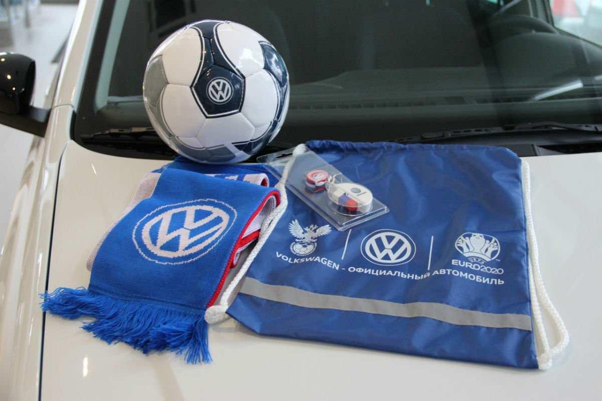 Volkswagen Polo футбольная версия