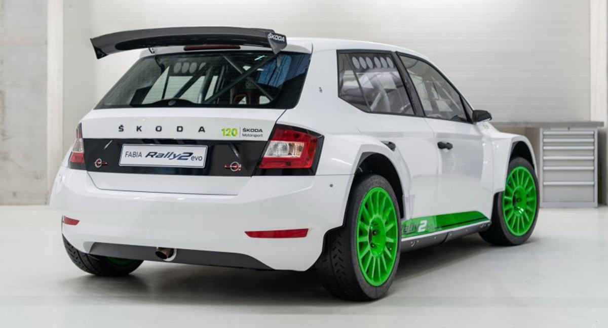 Fabia Rally2 Evo Edition