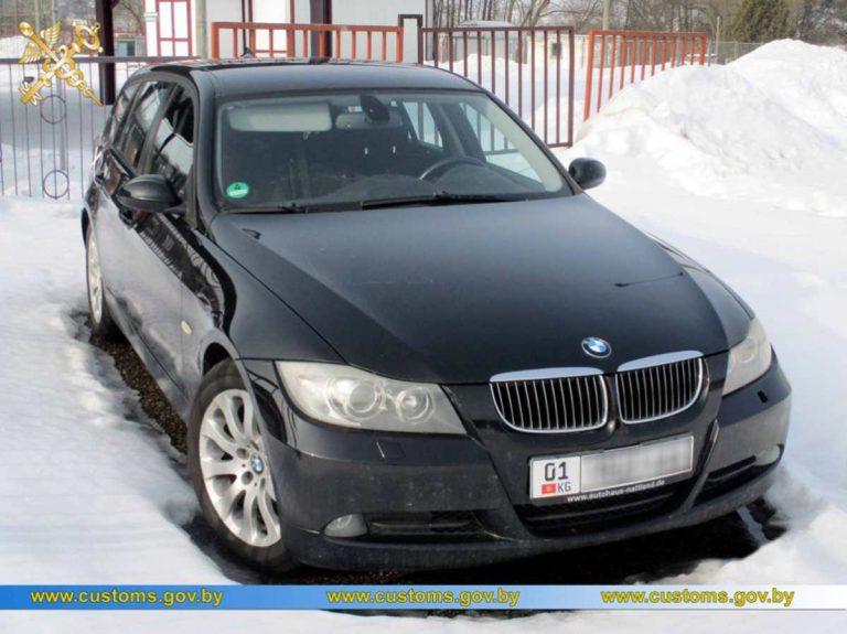 незаконный ввоз BMW