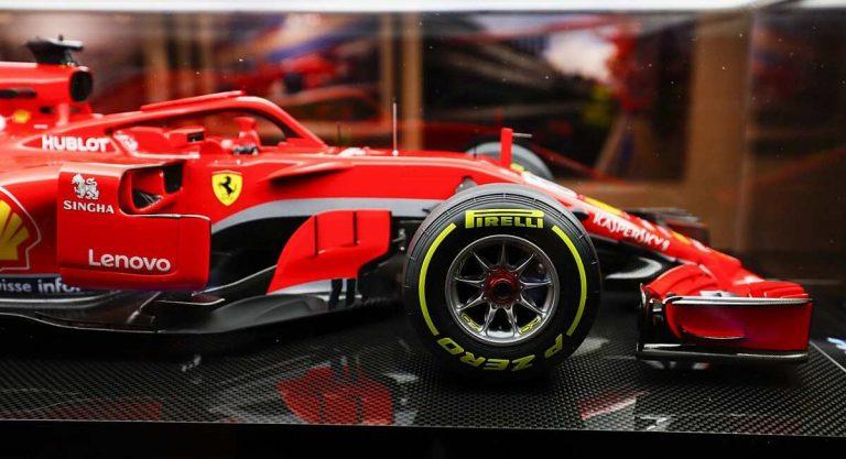макет Ferrari