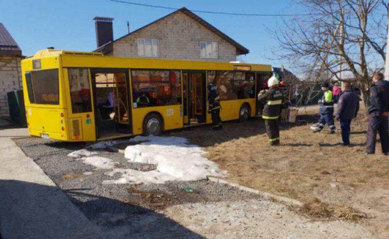 За рулем погиб водитель автобуса