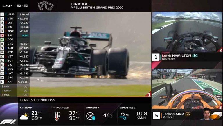 Трансляции F1