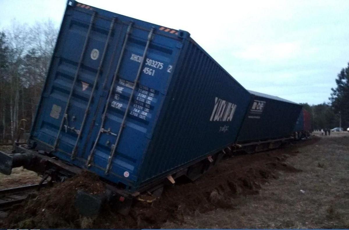 столкновение грузовика и поезда