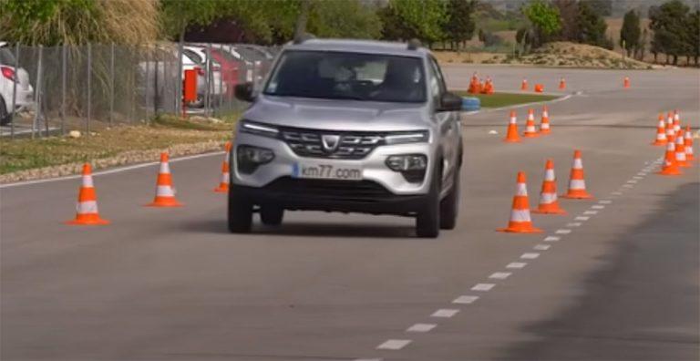 лосиный тест Dacia