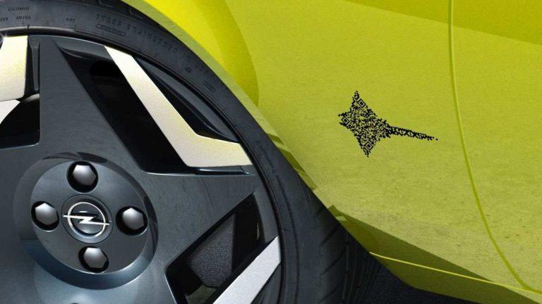 QR-код Opel