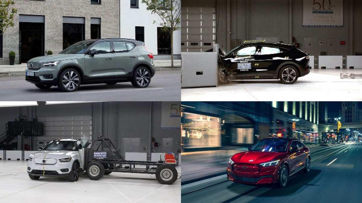 Электрокары Ford и Volvo