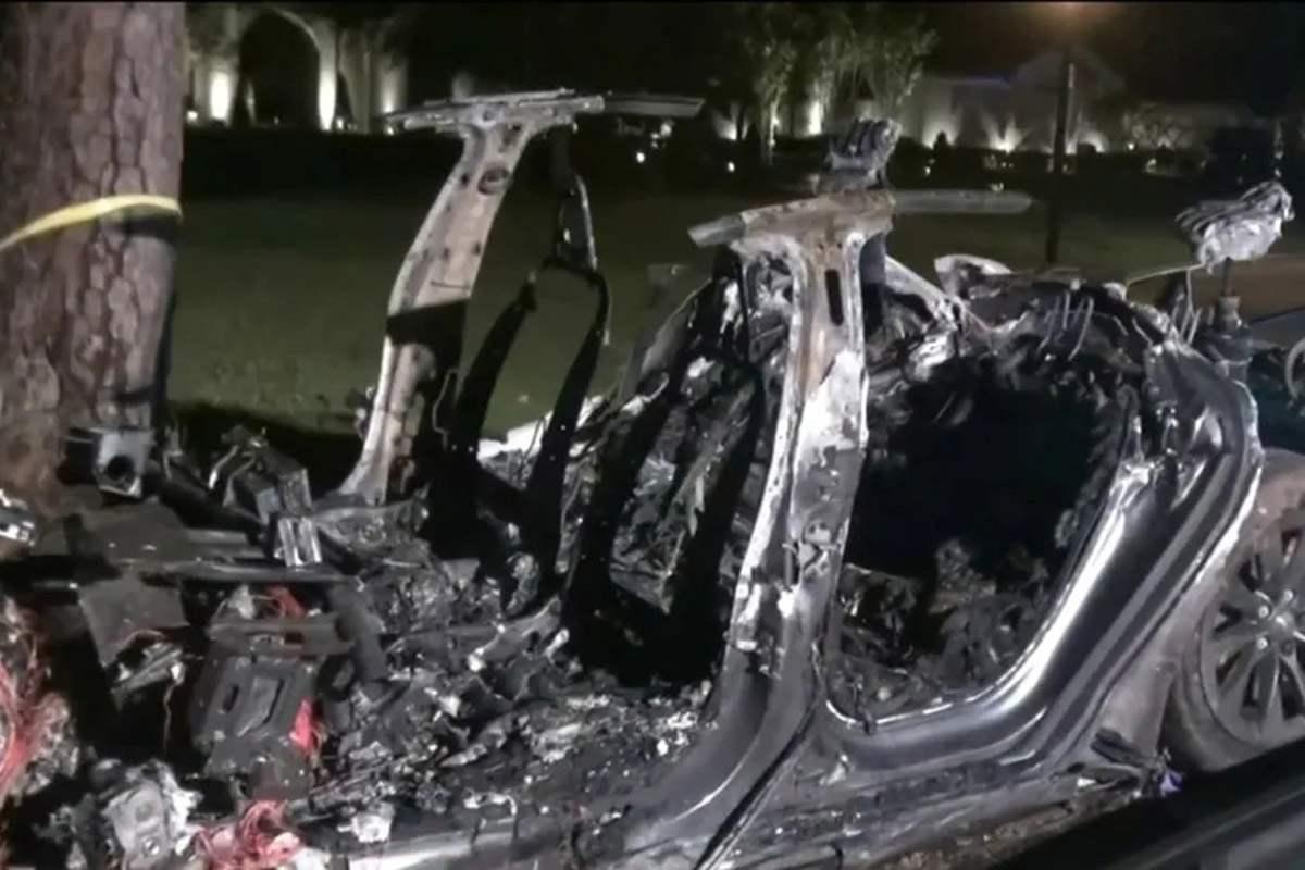 смертельное ДТП Tesla