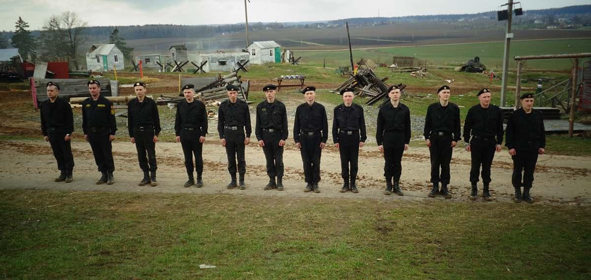 """Танковый биатлон"" на ""Линии Сталина"""