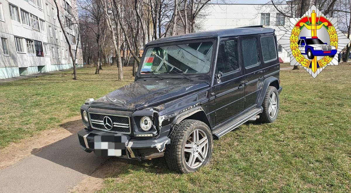 Водитель Mercedes сбил пешехода