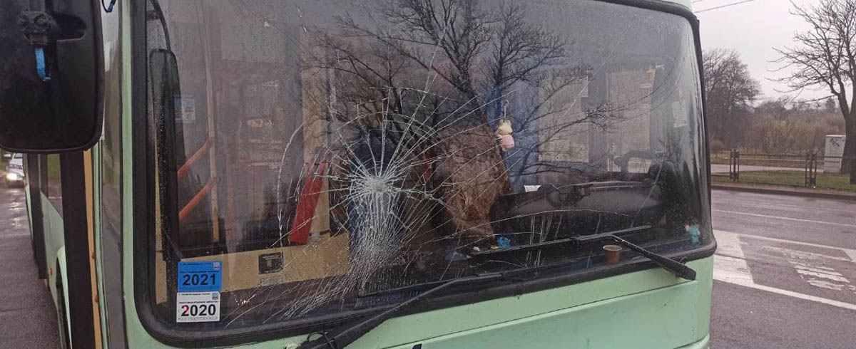 Троллейбус сбил двух детей