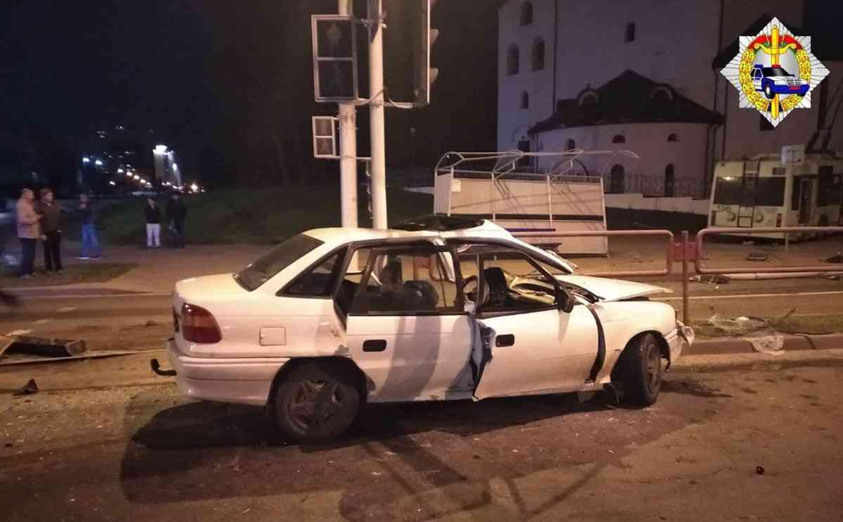 ДТП на Севастопольской