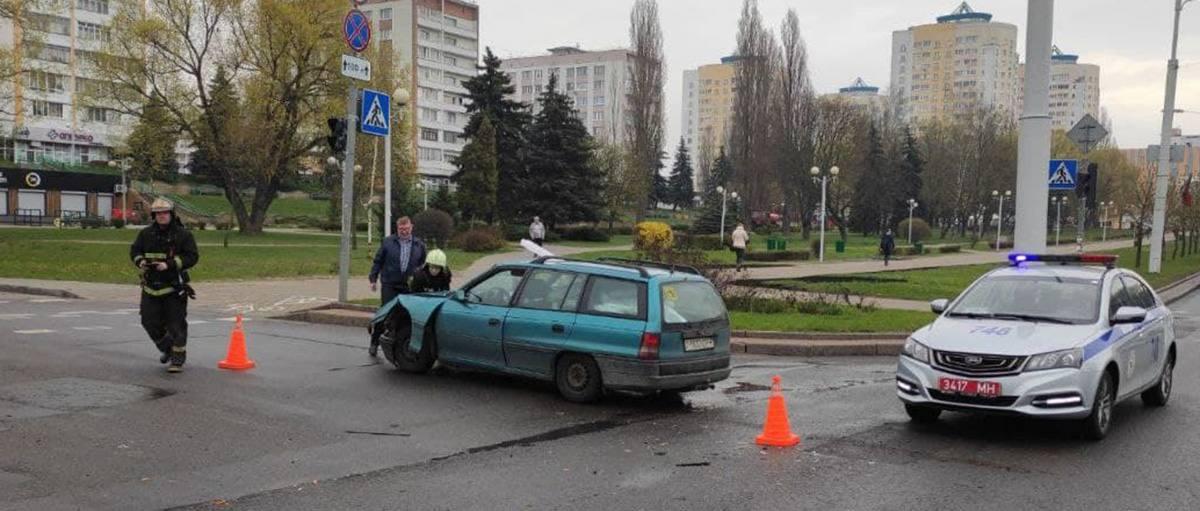 ДТП на Притыцкого