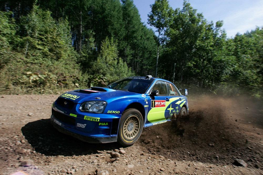 Subaru Impreza Петтера Сольберга выставлена на аукцион
