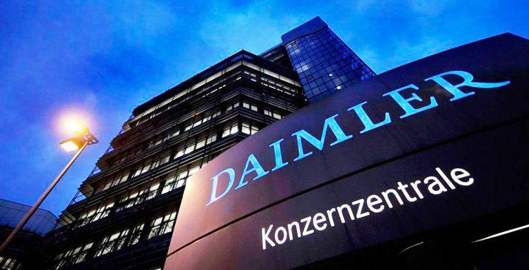продажа акций Daimler