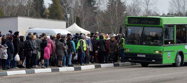 транспорт на Радуницу