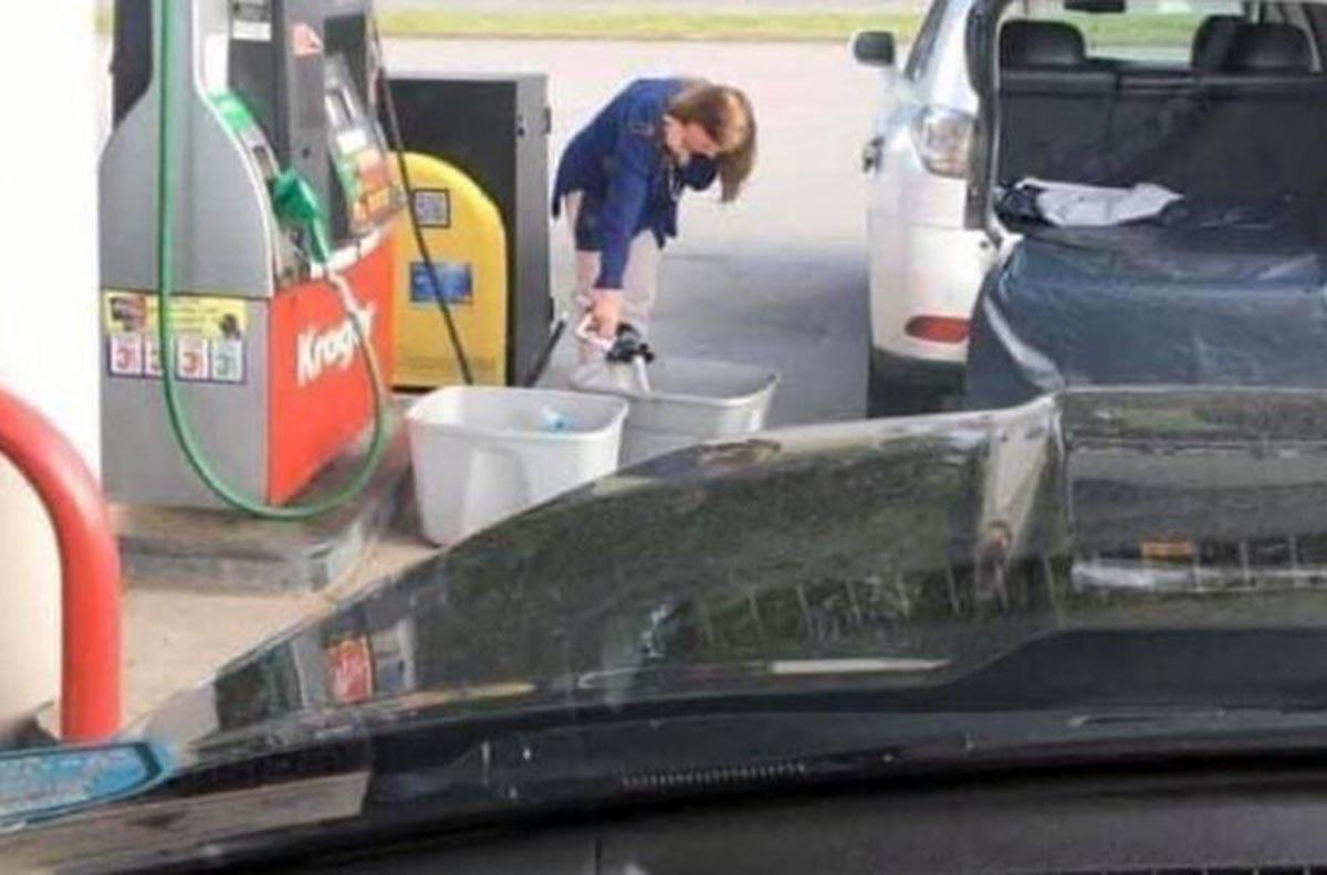 топливо в США
