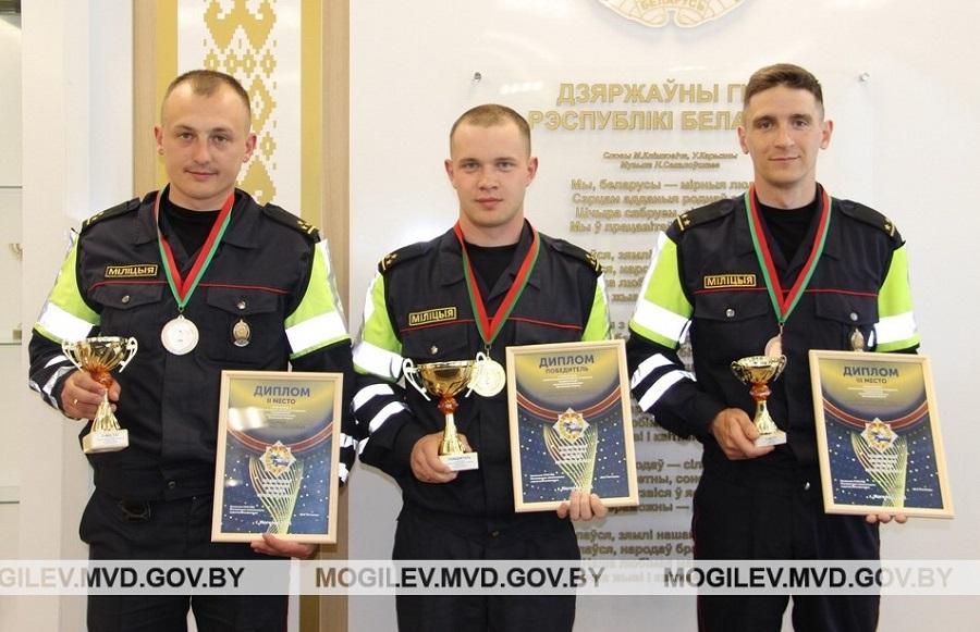 Лучший сотрудник ДПС Могилевской области