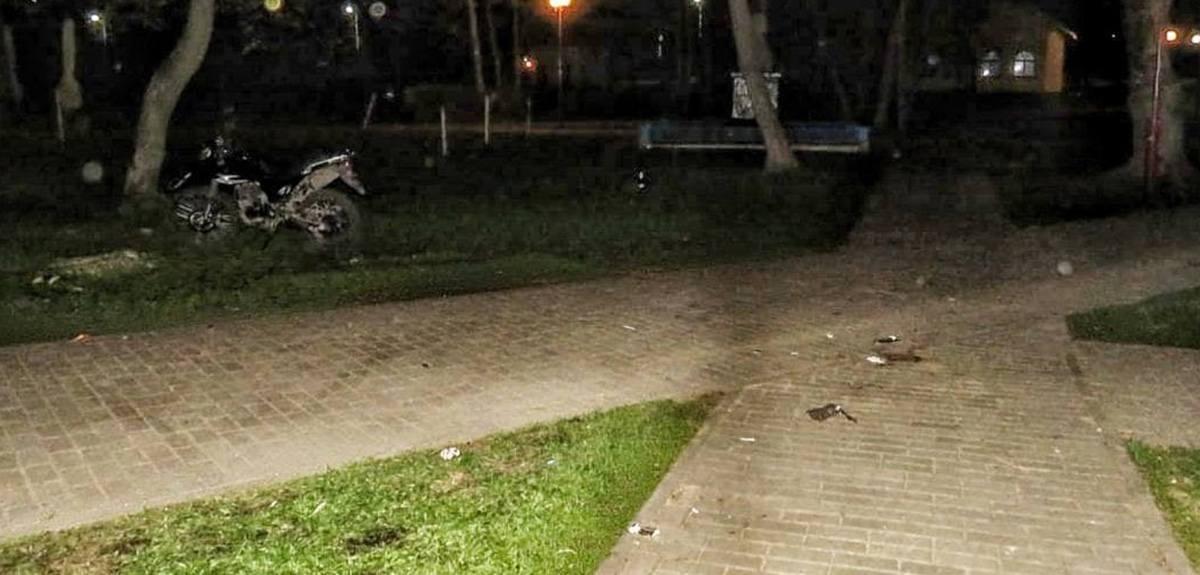 мотоциклист сбил ребенка в Лиде