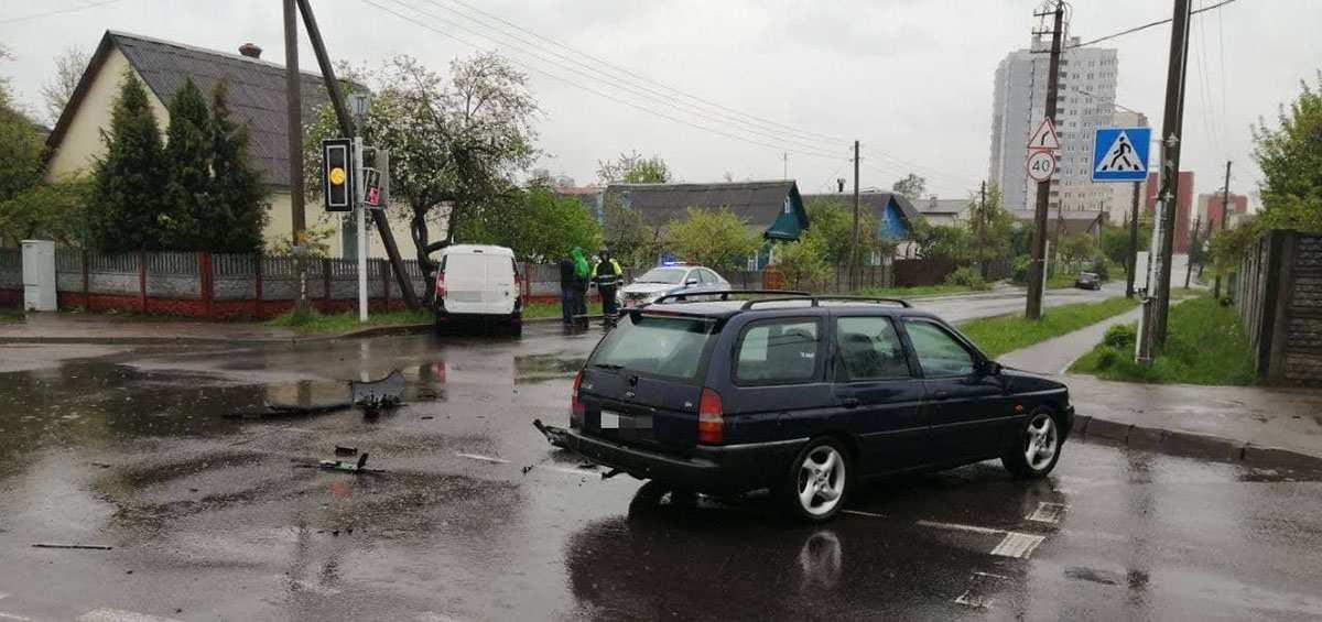 ДТП на Байкальской