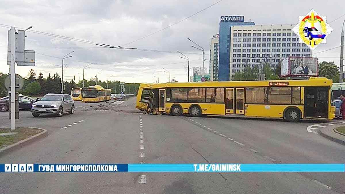ДТП с рейсовым автобусом