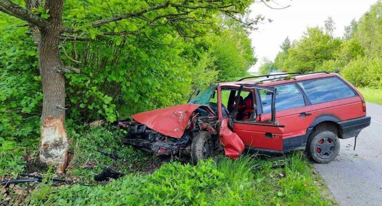 в ДТП в Витебской области погибла женщина