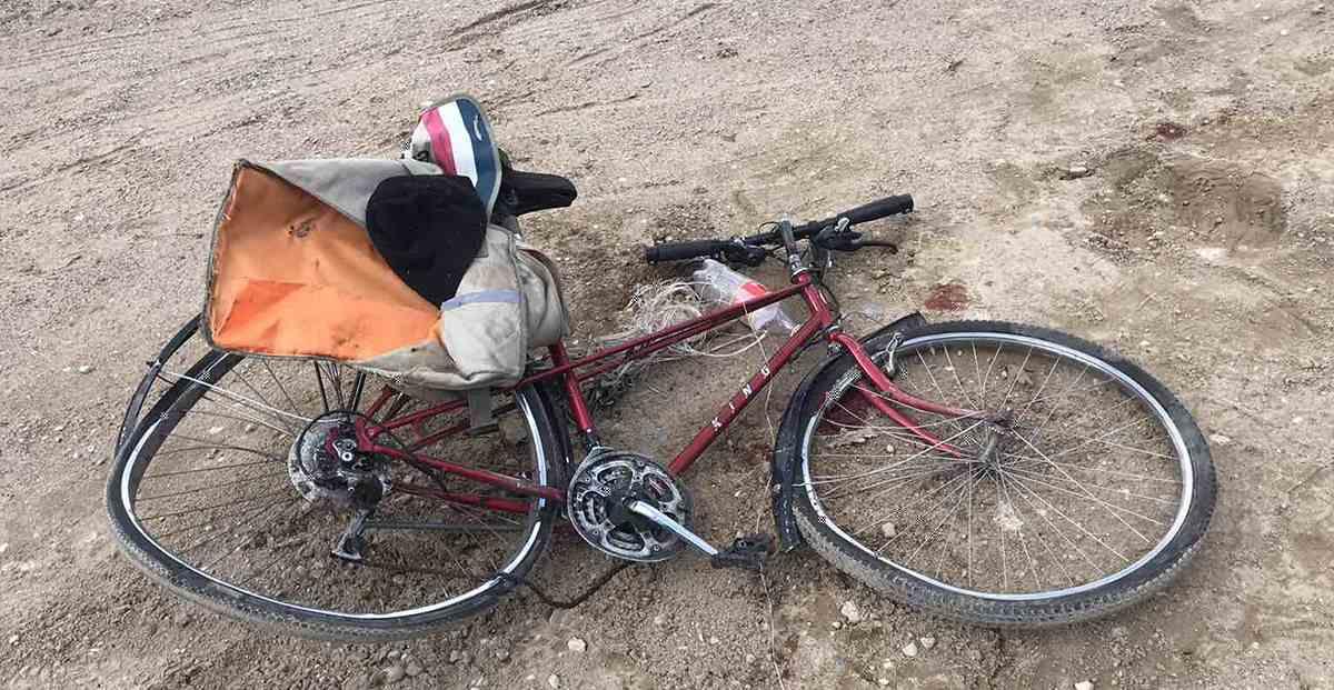 МАЗ сбил велосипедиста