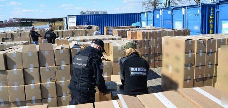 контрабанда сигарет в Польшу