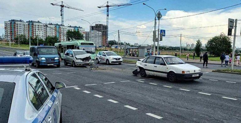 ДТП на Игуменском тракте