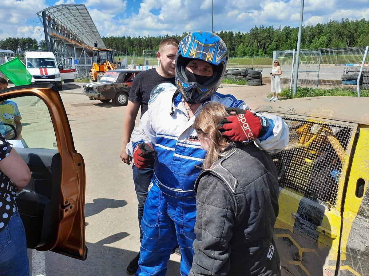 Трековые гонки 2021 в Стайках