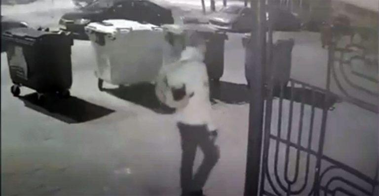 разбил стекло чужого авто