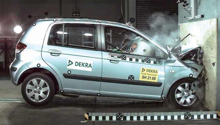 краш-тест Hyundai Getz