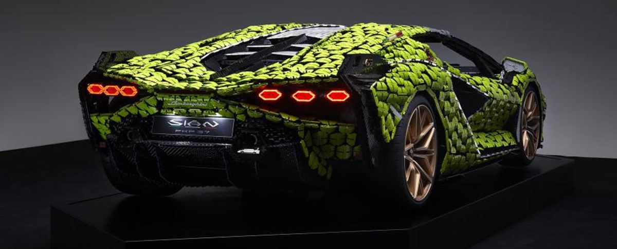 Lamborghini Sian из Lego