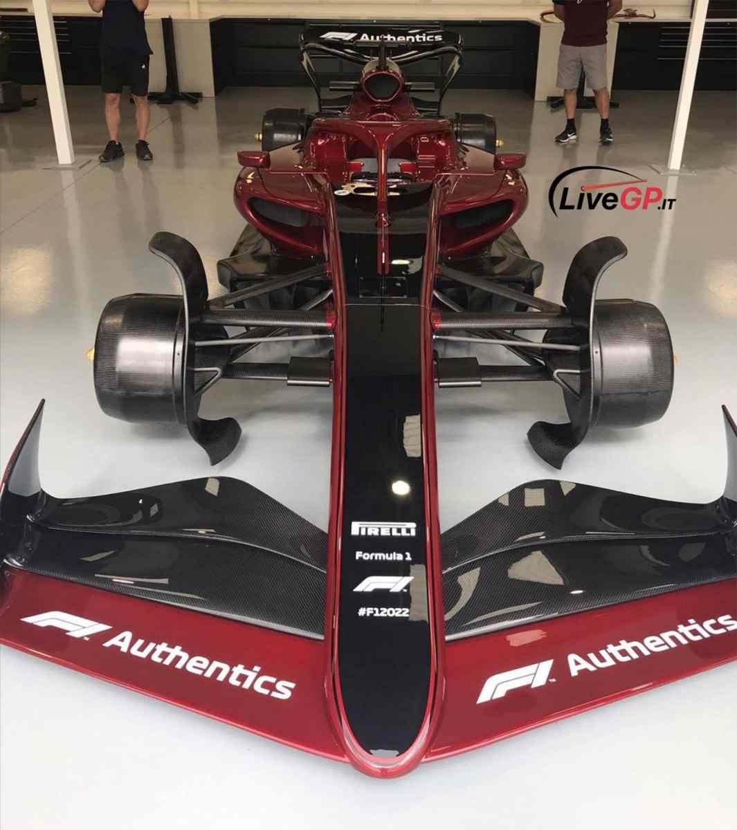 новый болид F1