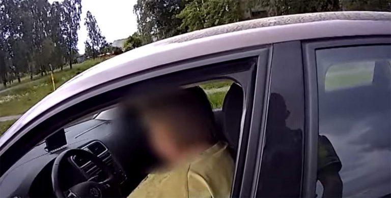пьяная водитель