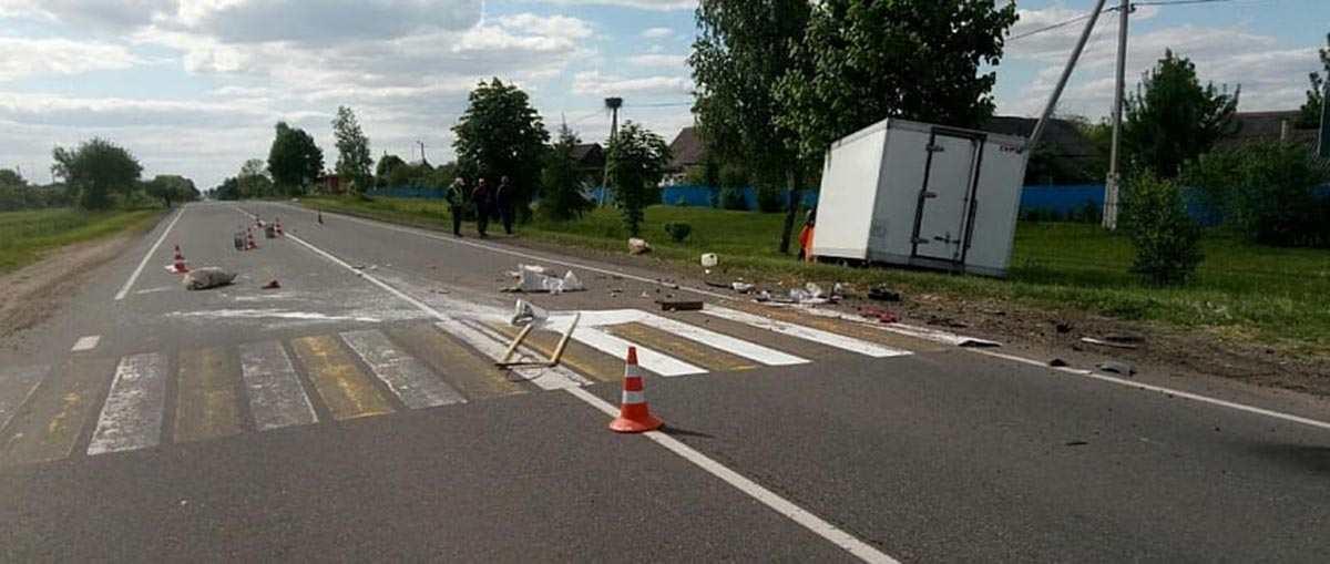 ДТП с дорожниками в Рогачевском районе