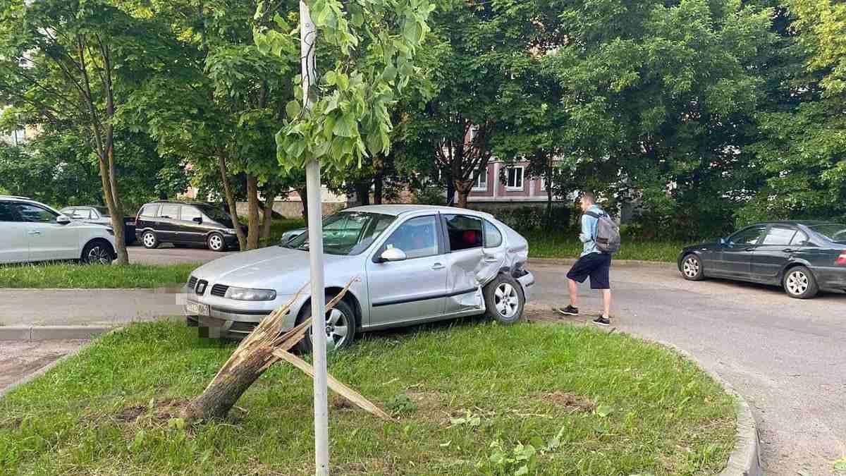 ДТП на улице Белецкого
